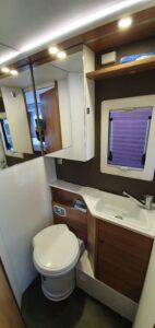 matkaauto tualett wc
