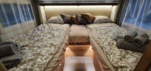 matkaauto adria matrix 670sl seest voodi voodipesu saunalinad käterätikud memas oü
